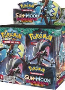 Pokemon S&M Guardians Rising Booster Box