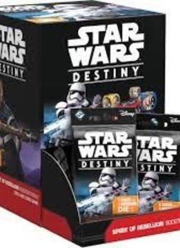Star Wars Destiny: Spirit of the Rebellion Booster BOX