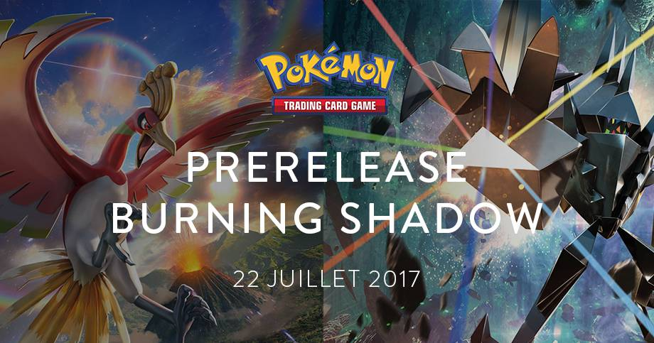 Prerelease Sun & Moon Burning Shadows