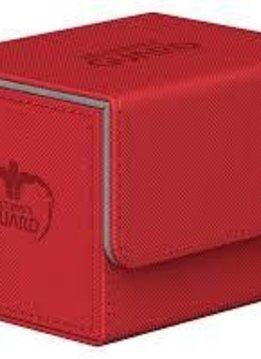 Deck Box: Sidewinder Xenoskin 100+ Red