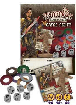 Zombicide Black Plague: Game Night Kit