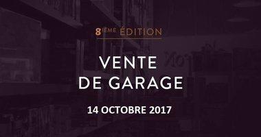 Vente de garage du Griffon, 8ième édition
