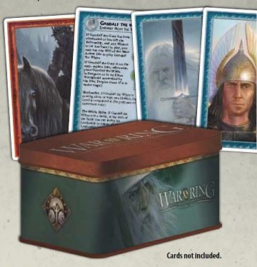 War of the Ring : Card Box / Sleeves (Gandalf)