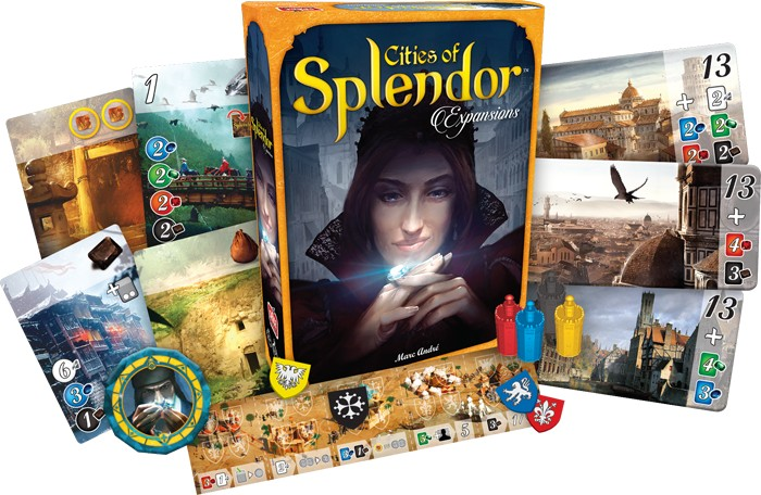 Splendor Ext - Cities Of Splendor (FR)