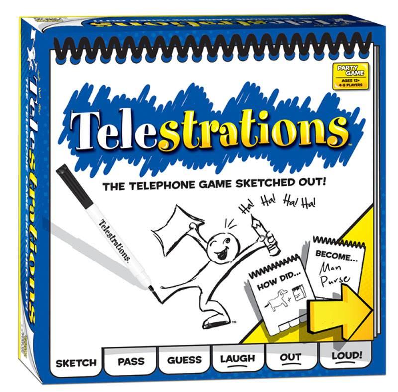 Telestrations Version Québec