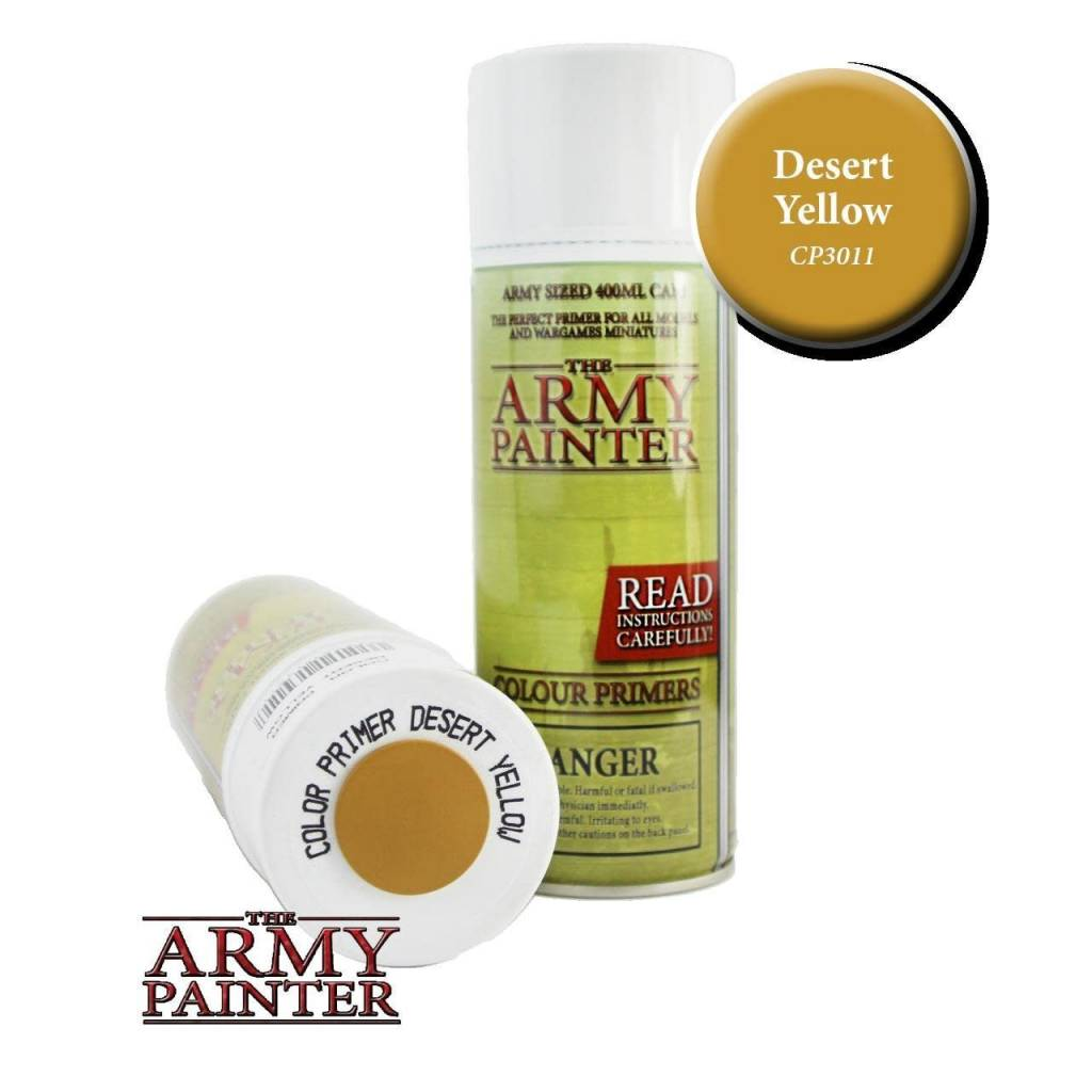 Colour Primer: Desert Yellow Spray