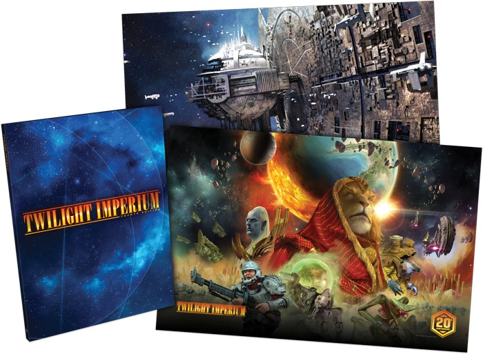 Twilight Imperium Hardcover Rulebook