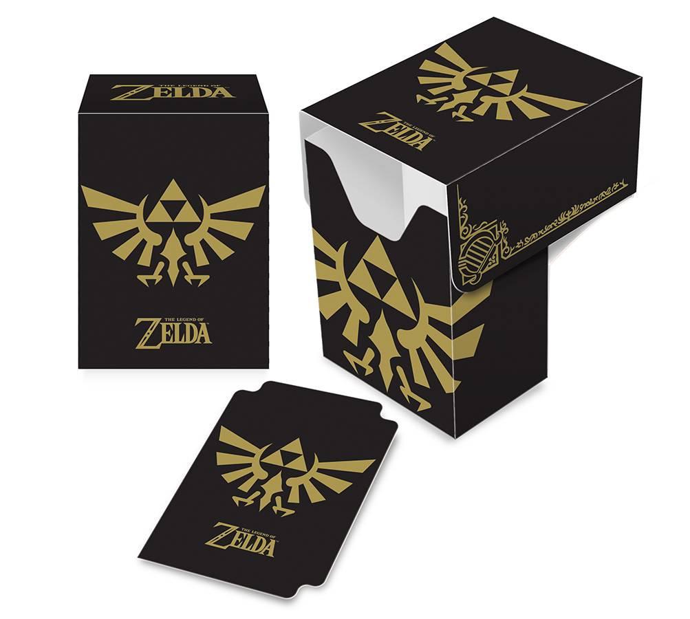 Deck Box: Legend of Zelda Black & Gold