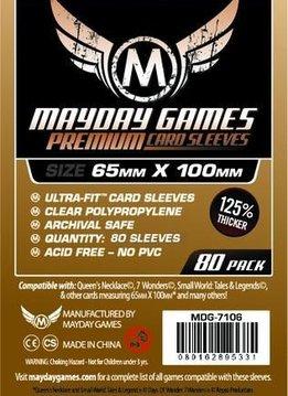 Premium Magnum 7 Wonders Sleeves 65mm x 100mm 80ct