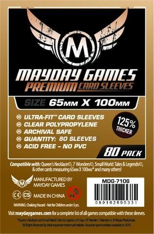 Premium Magnum 7 Wonders Sleeves 65mm x 100mm 80ct