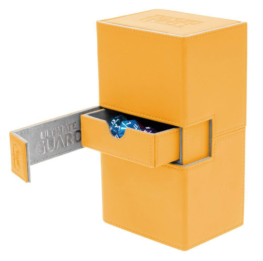 Twin Flip'n'Tray Deck Case 160+ XenoSkin Amber