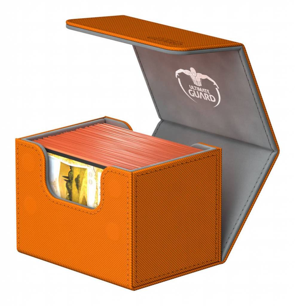 Deck Box: Sidewinder Xenoskin 100+ Orange