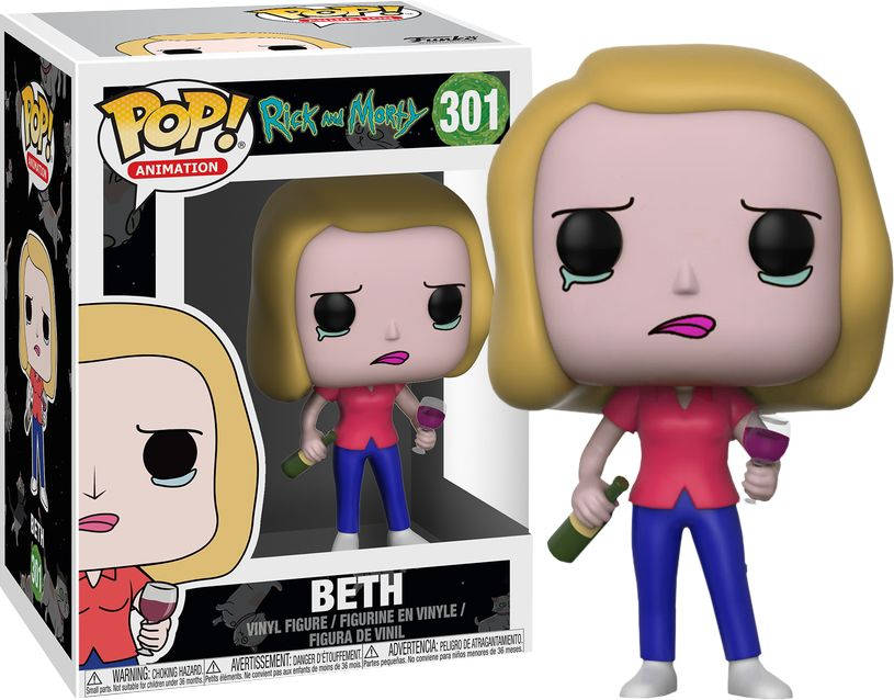 Pop Rick & Morty Beth