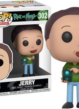 Pop Rick & Morty Jerry