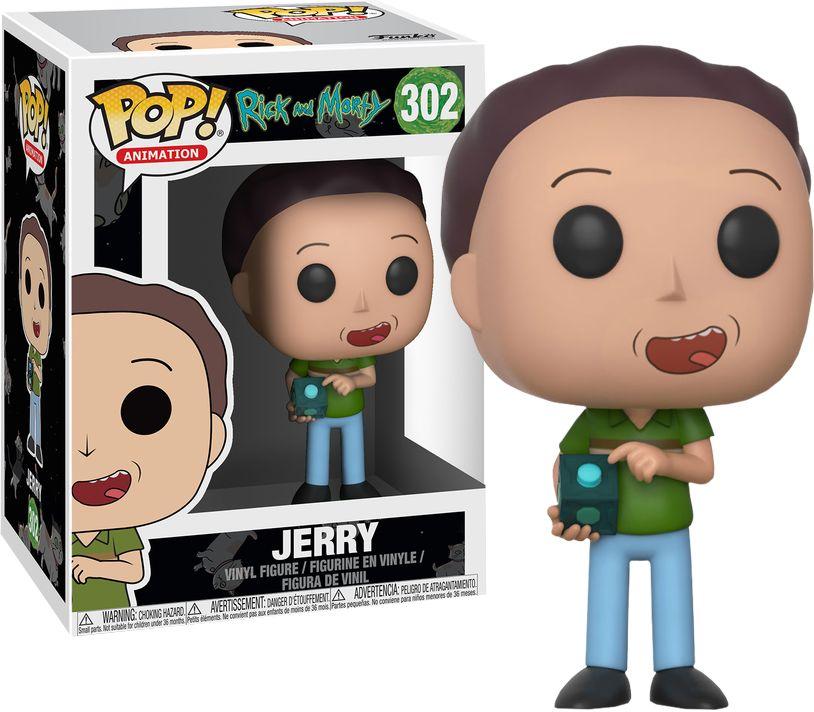 Pop Rick & Morty Jerry