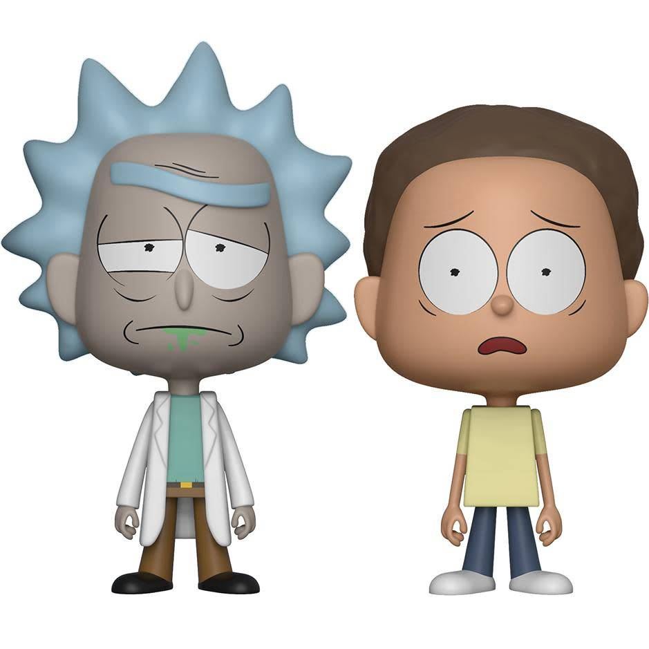 Vynl Rick & Morty
