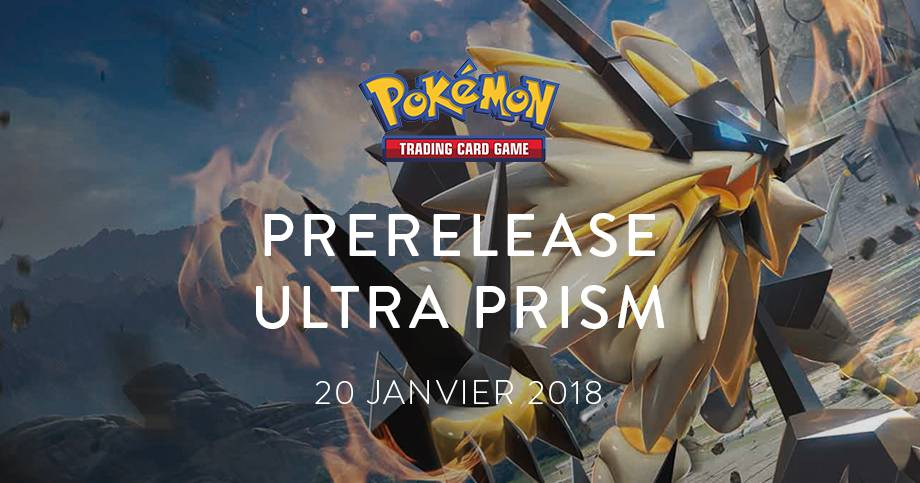 Prerelease Sun & Moon - Ultra Prism