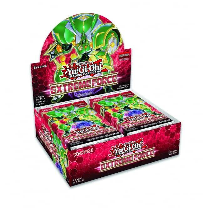 YGO Extreme Force Booster Box