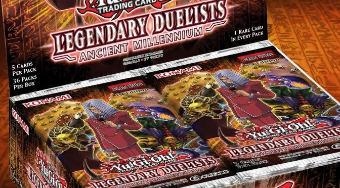 YGO Legendary Duelists: Ancient Millenium Booster Box