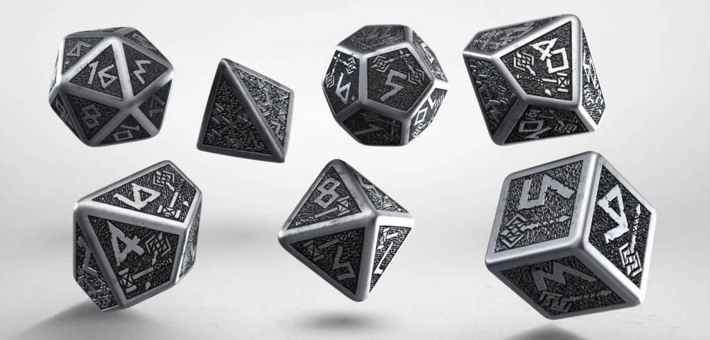 Call of Cthulhu Metal Dice Set of 7