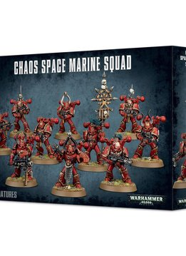 Chaos Space marine squad