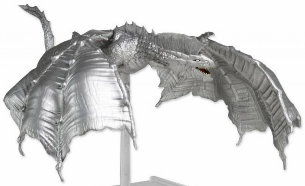 D&D ATTACK WING PREMIUM SILVER DRAGON FIGURE