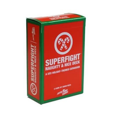 Superfight: The Naughty & Nice Deck