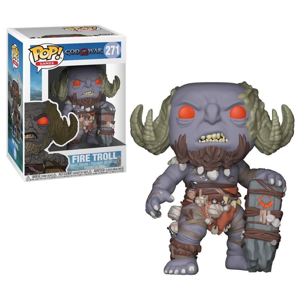 Pop God of War Fire Troll
