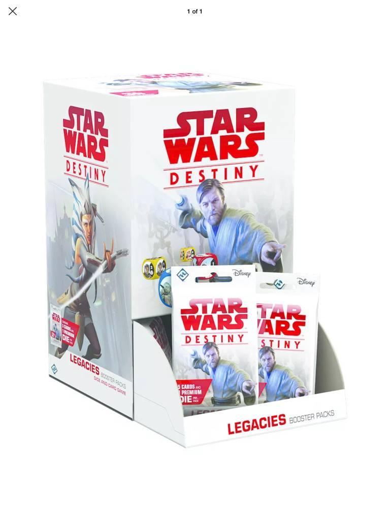 Star Wars Destiny: Legacies Booster Box