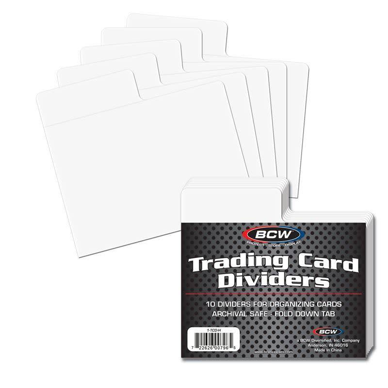 Horizontal Card Dividers