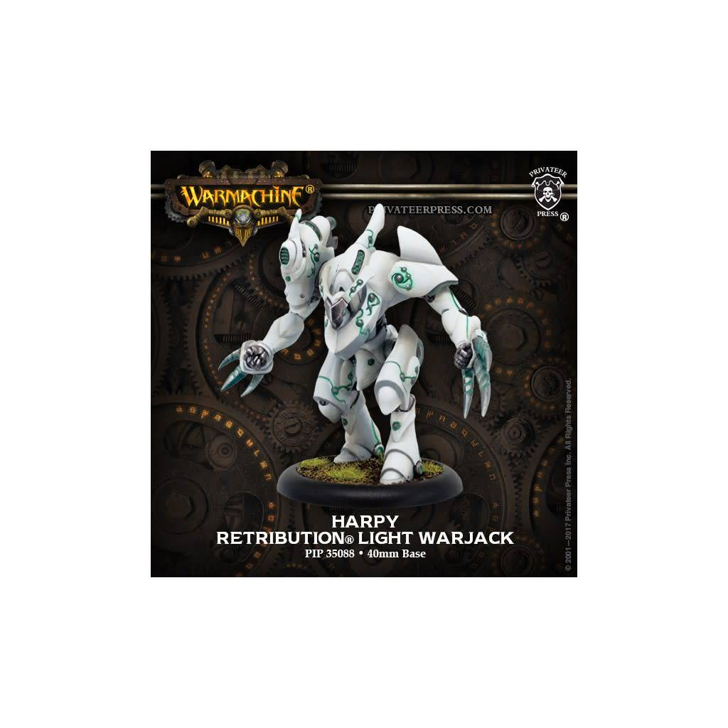 Warmachine: Retribution of Scyrah Harpy Light Warjack