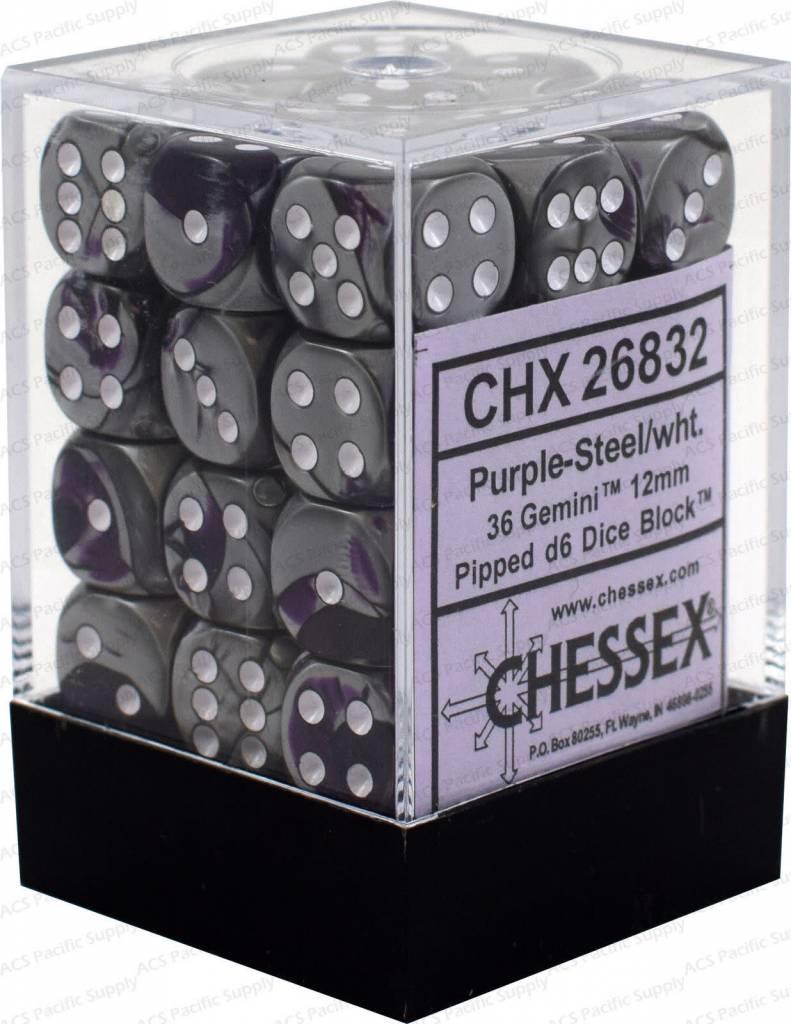26832 36d6 Purple Steel-White