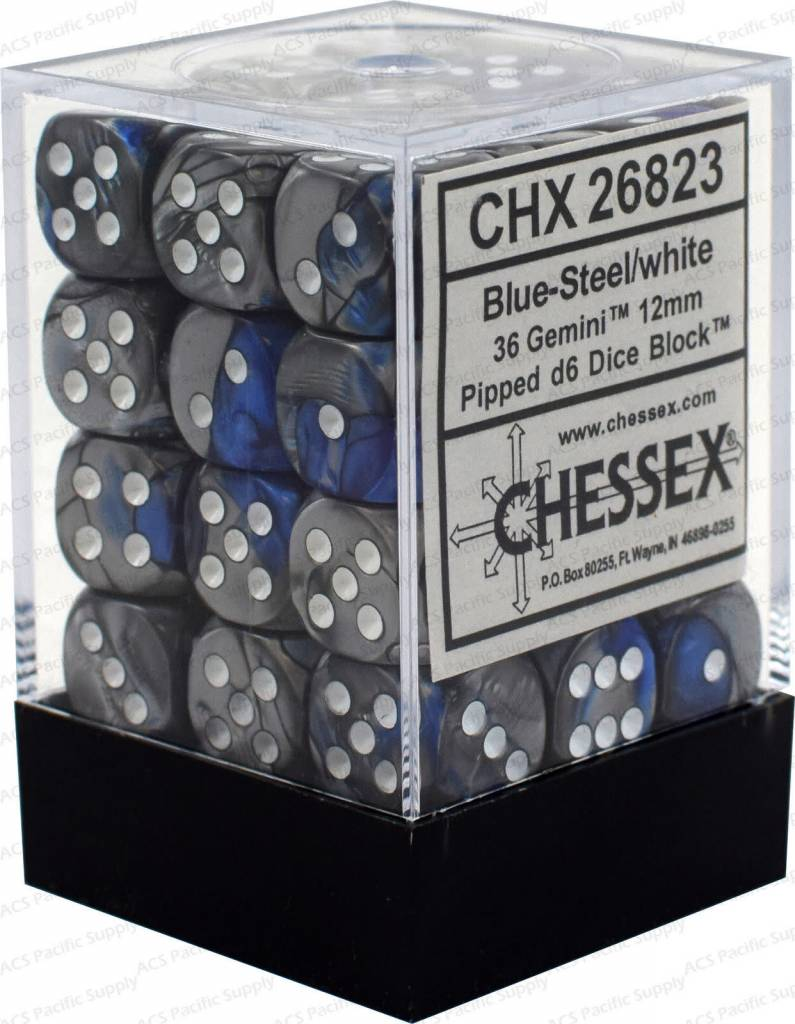 26823 Blue-steel/white  36d6