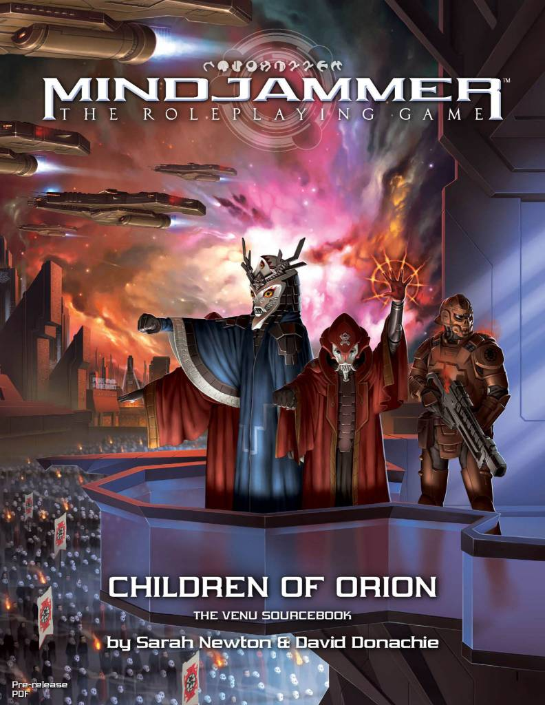Mindjammer: Children of Orion Venu Sourcebook