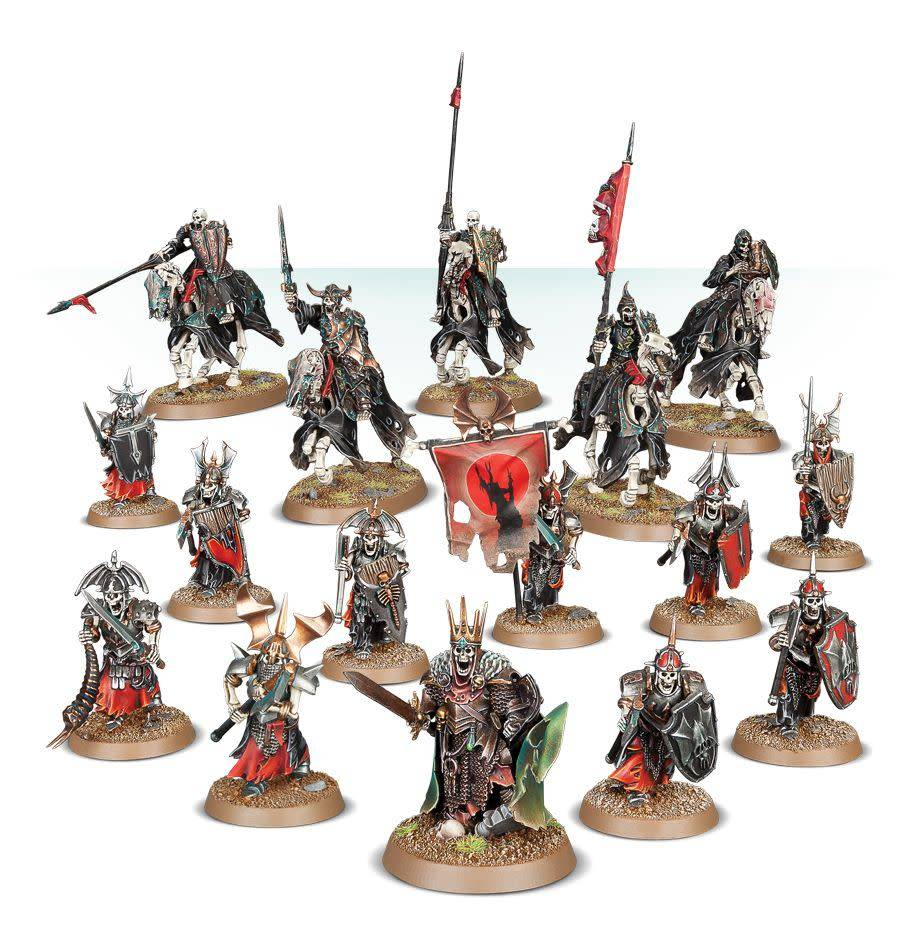 Warhammer Age of Sigmar: Deathrattle Barrow Lords