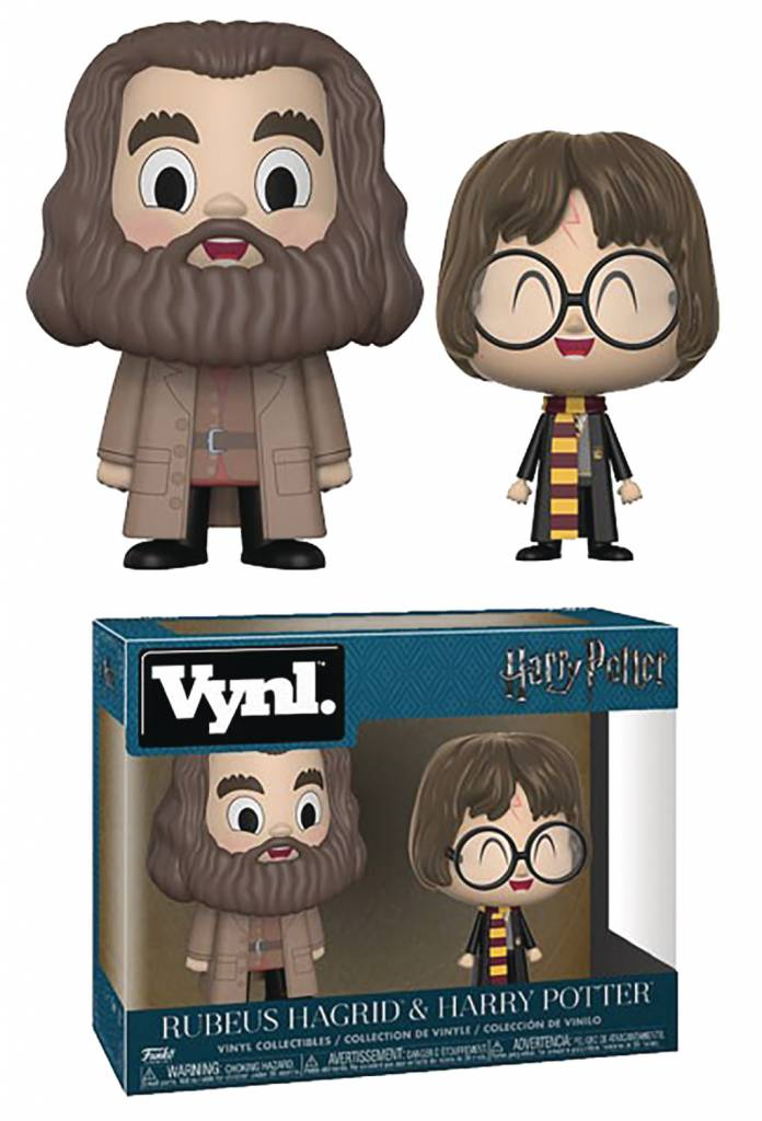 Vynl Harry Potter & Hagrid