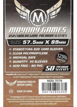 Protecteurs de cartes «USA chimera» 57.5mm X 89mm Deluxe - Paquet de 50