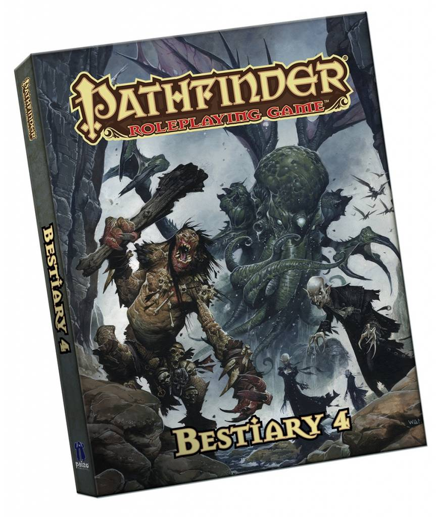 Pathfinder Bestiary 4 - Pocket Edition