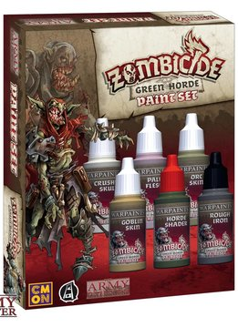 Warpaints: Zombicide Green Horde Paint Set