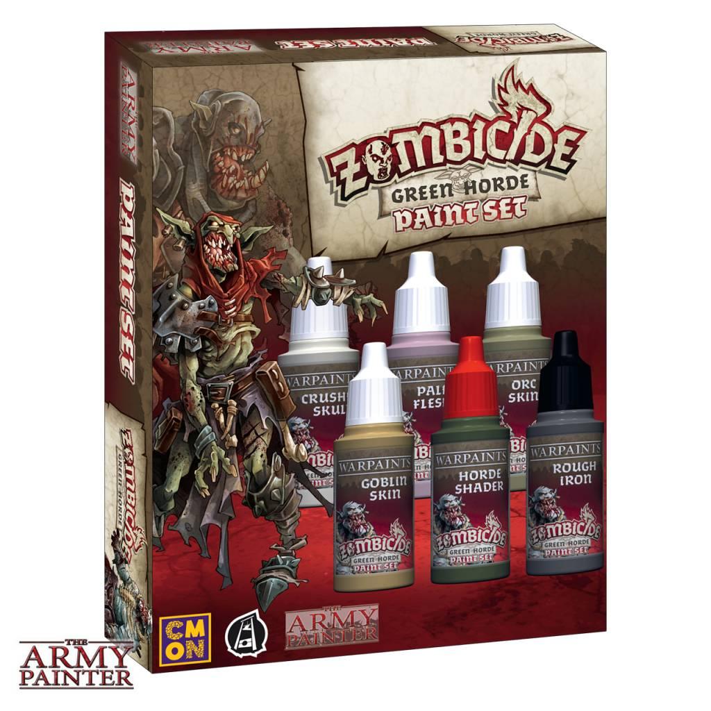 Warpaints: Zombicide Green Horde Paint Set