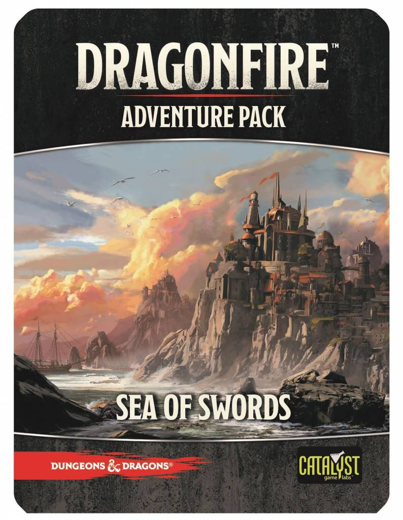 D&D Dragonfire Adventures: Sea of Swords