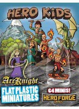 Flat Plastic Miniatures: Hero Kids