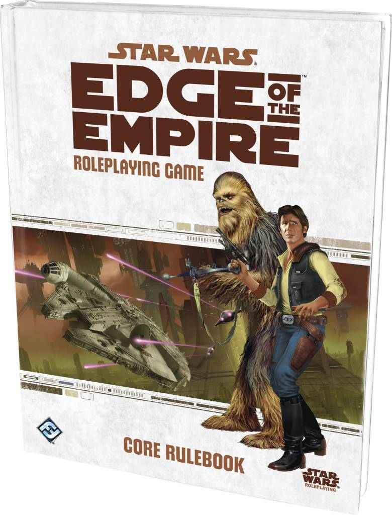 Edge of the empire rulebook Star Wars RPG
