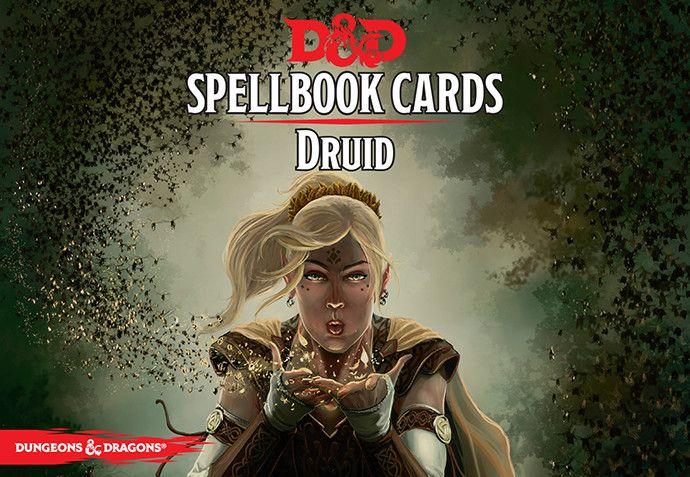 D&D Spellbook Cards Druid revised 2017