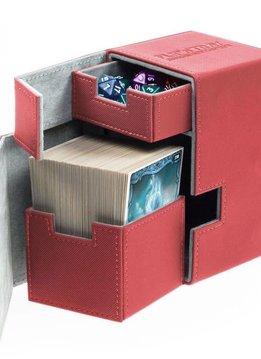 Deck Box Flip N Tray Xenoskin Red 100+
