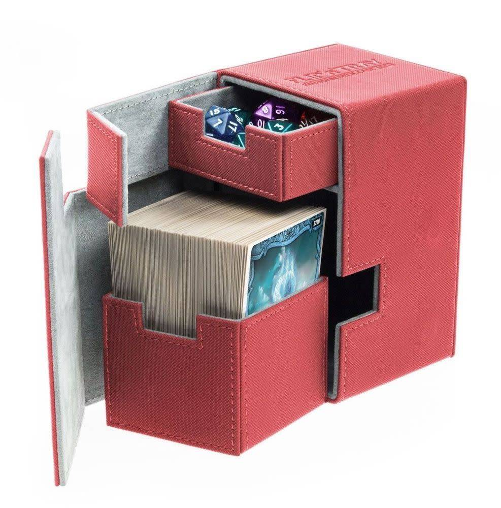 Deck Box Flip N Tray Xenoskin Red 100+