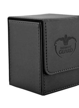 Flip Deck Case Leather Black 100
