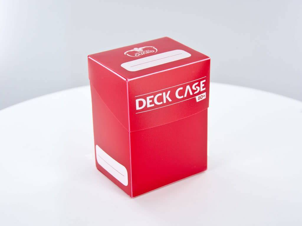 Deck Case 80+ (Red)