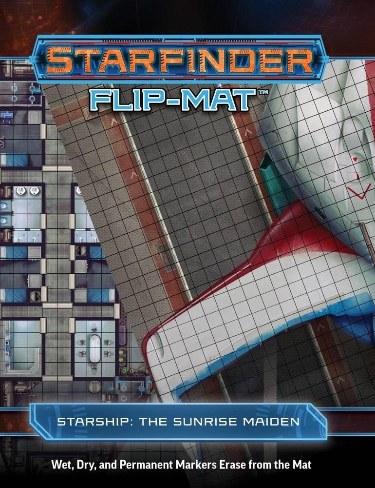 Starfinder Flip-Mat The Sunrise Maiden Starship