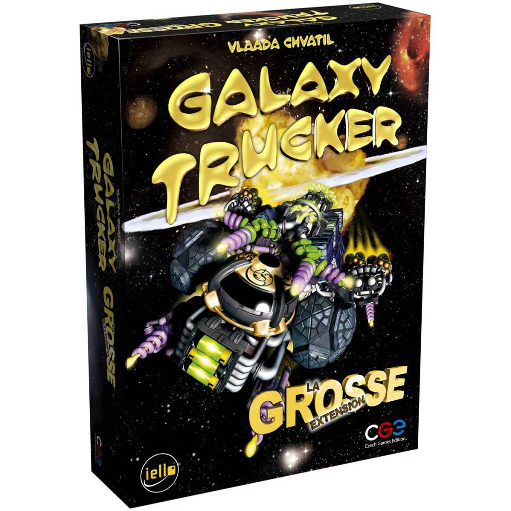 La grosse Extension: Galaxy Trucker